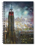 Nyc. Empire State Building Spiral Notebook