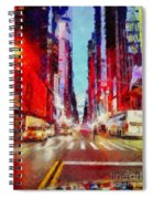 Nyc Fifth Ave Spiral Notebook