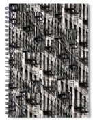 Nyc Fire Escapes Spiral Notebook
