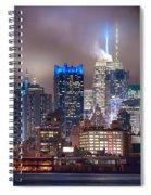 Nyc Fog Spiral Notebook