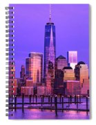 Nyc From Hoboken Spiral Notebook