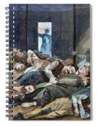 Nyc: Homeless, 1874 Spiral Notebook