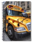 Nyc School Bus Spiral Notebook