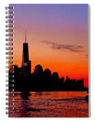 Nyc Sunrise  Spiral Notebook