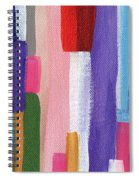 Nyhavn- Abstract Painting Spiral Notebook