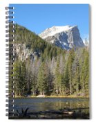 Nymph Lake In Rocky Mountain National Park Spiral Notebook