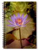 Nymphaea Spiral Notebook