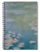 Nympheas At Giverny Spiral Notebook