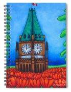 O Canada Spiral Notebook