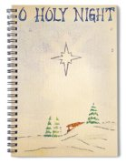 O Holy Night Spiral Notebook