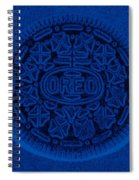 O R E O In Blue Spiral Notebook