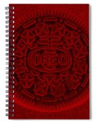 O R E O In Red Spiral Notebook