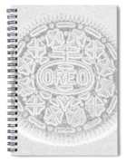 O R E O In White Spiral Notebook