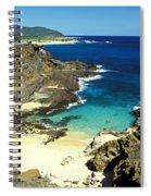 Oahu, Beach Goers Spiral Notebook