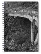 Oahu Birdge Spiral Notebook