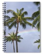 Oahu, Rainbow Spiral Notebook