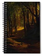 Oak Grove At San Terenzo Spiral Notebook