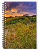 Oak Island Sunset Spiral Notebook
