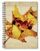 Oak Leaf Spiral Notebook