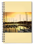 Oak Point Harbor Spiral Notebook