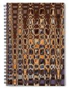 Oak Stump Abstract Spiral Notebook