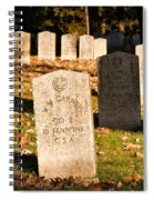 Oakland Cemetery Atlanta Spiral Notebook