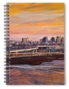 Oakland Sunset Spiral Notebook