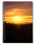 Oakrun Sunset Spiral Notebook