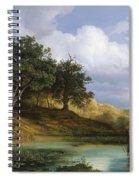 Oaks Beside The Water 1832  Spiral Notebook