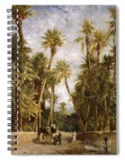 Oasis At Lagrount  Spiral Notebook