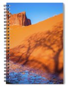 Oasis Tree Shadow Spiral Notebook