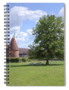 Oast House In Kent - England Spiral Notebook