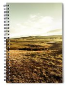 Oatlands Rolling Hills Spiral Notebook