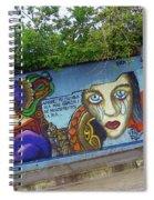 Oaxaca Graffiti Spiral Notebook