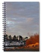 Obear Park At Sunset Spiral Notebook