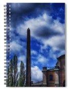 Obelisk In Gamla Stan Spiral Notebook