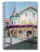 Oberammergau Street Spiral Notebook