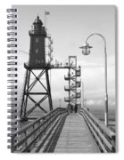Obereversand Lighthouse - North Sea - Germany Spiral Notebook