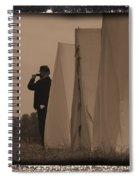Observing The Field Of Battle Spiral Notebook