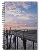 Obx Sunrise Spiral Notebook