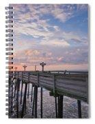 Obx Sunrise Spiral Notebook