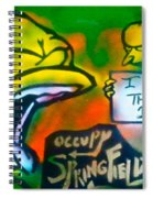 Occupy Springfield Spiral Notebook