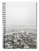 Ocean Beach In Tasmania Spiral Notebook