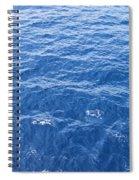 Ocean Blue Spiral Notebook