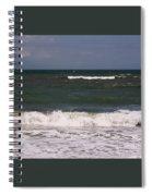 Ocean - Blue - Waves Spiral Notebook