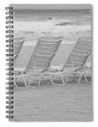Ocean Chairs Spiral Notebook