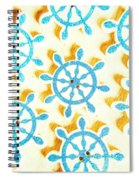 Ocean Circles Spiral Notebook