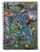 Ocean Circus Spiral Notebook