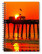 Ocean City Sunrise Spiral Notebook