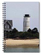Ocean Cottage Spiral Notebook